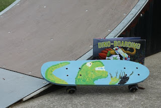 Make your own Dino-Board for DINO-BOARDING by Lisa Wheeler and Barry Gott