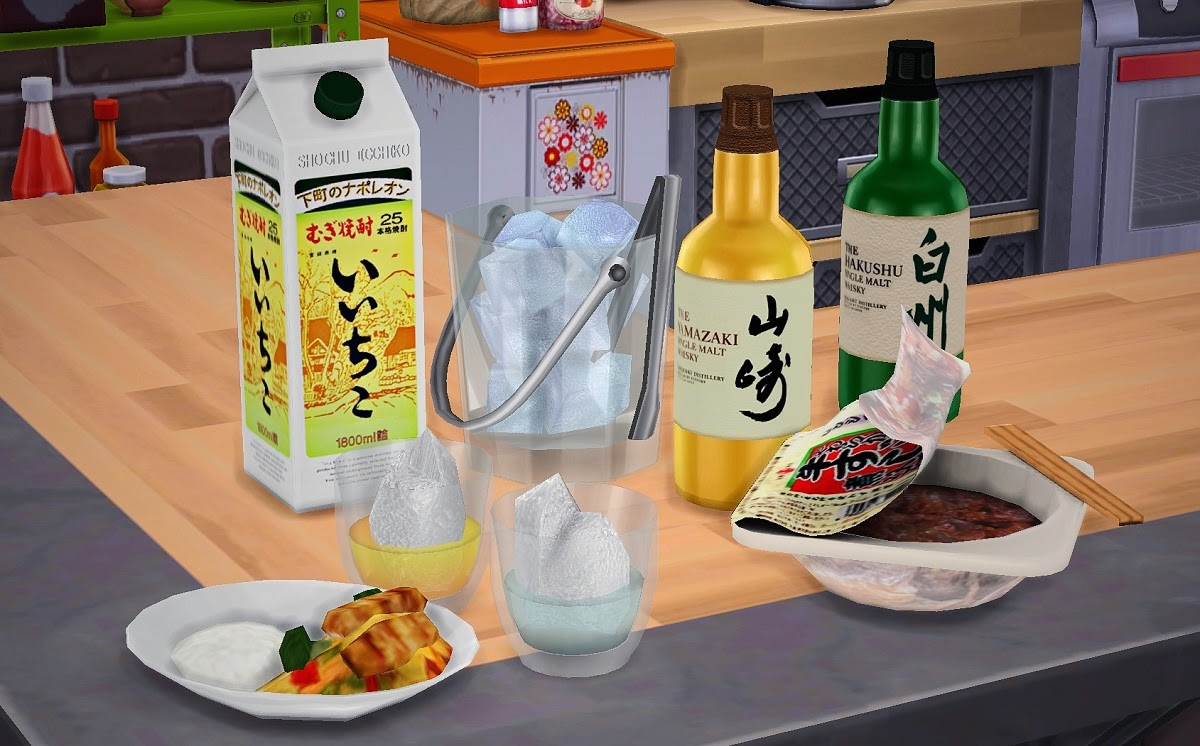 how to make drinks in sims 4