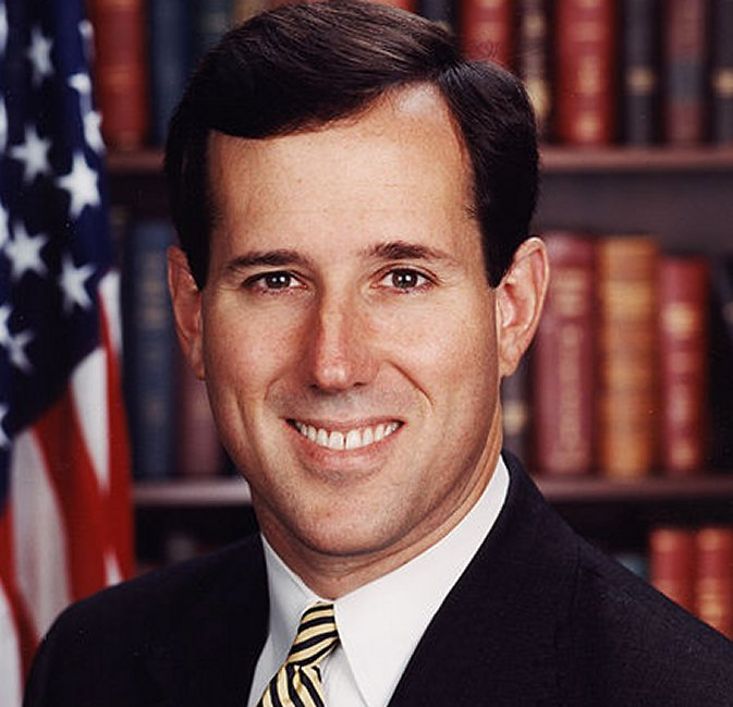 Republican Presidential hopeful and former Senator Rick SANTORUM ...