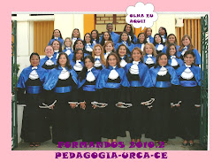 FORMANDOS 2010.2 PEDAGOGIA URCA-CE