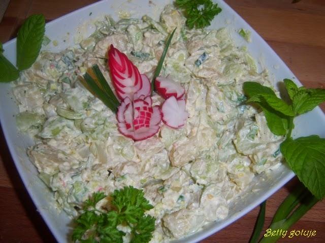 Betty Gotuje Niemiecka Salatka Ziemniaczana