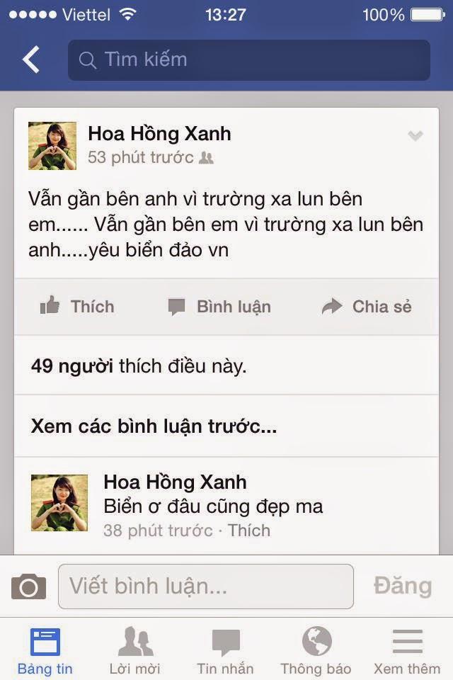 Nữ Cảnh Sát Việt Nam bị cư dân mạng ném đá trên facebook