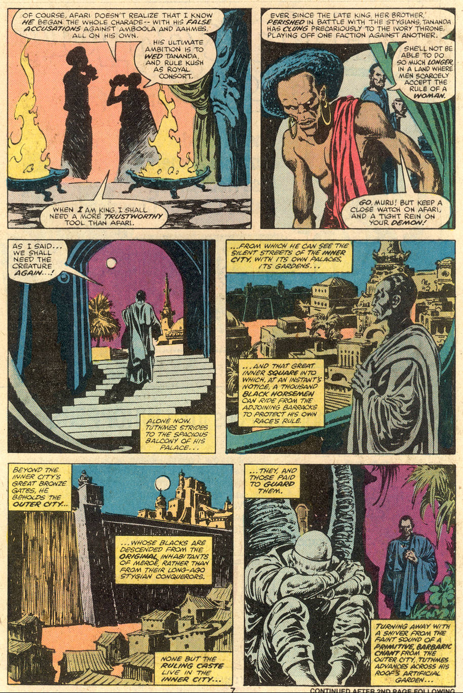 Conan the Barbarian (1970) Issue #106 #118 - English 7