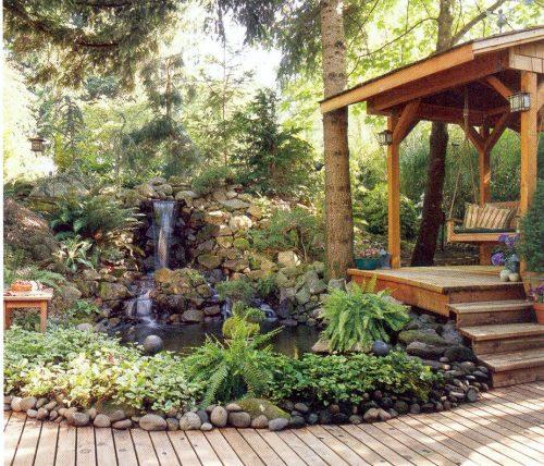 Garden design hill landscape design for Hill landscape design