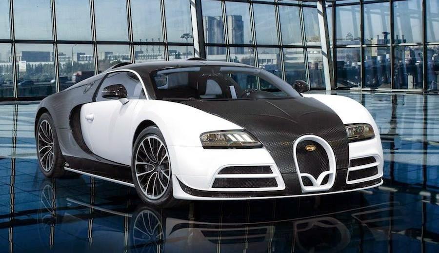 世界一高い価格の高級車 ヴェイロン・マンソリー