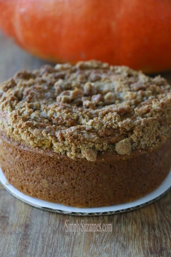 pumpkin butter streusel cake