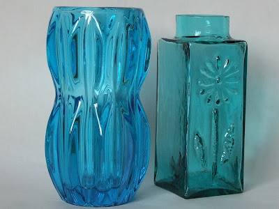 Sklo Union glass vase Dartington Frank Thrower Daisy vase