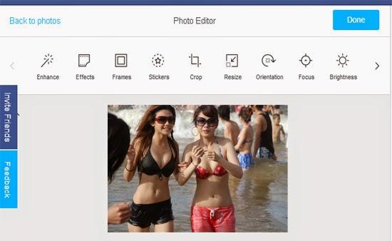 cara mengedit foto di facebook