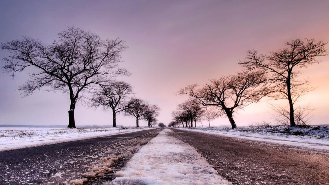 Winter wallpapers - Free Download Winter Snowy Road HD ...