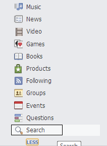 clear your facebook search history - step 3