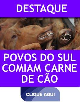 ANTEPASSADOS COMIAM CARNE CANINA