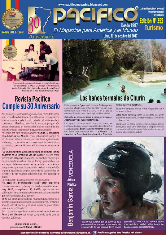 Revista Pacífico Nº 352 Turismo