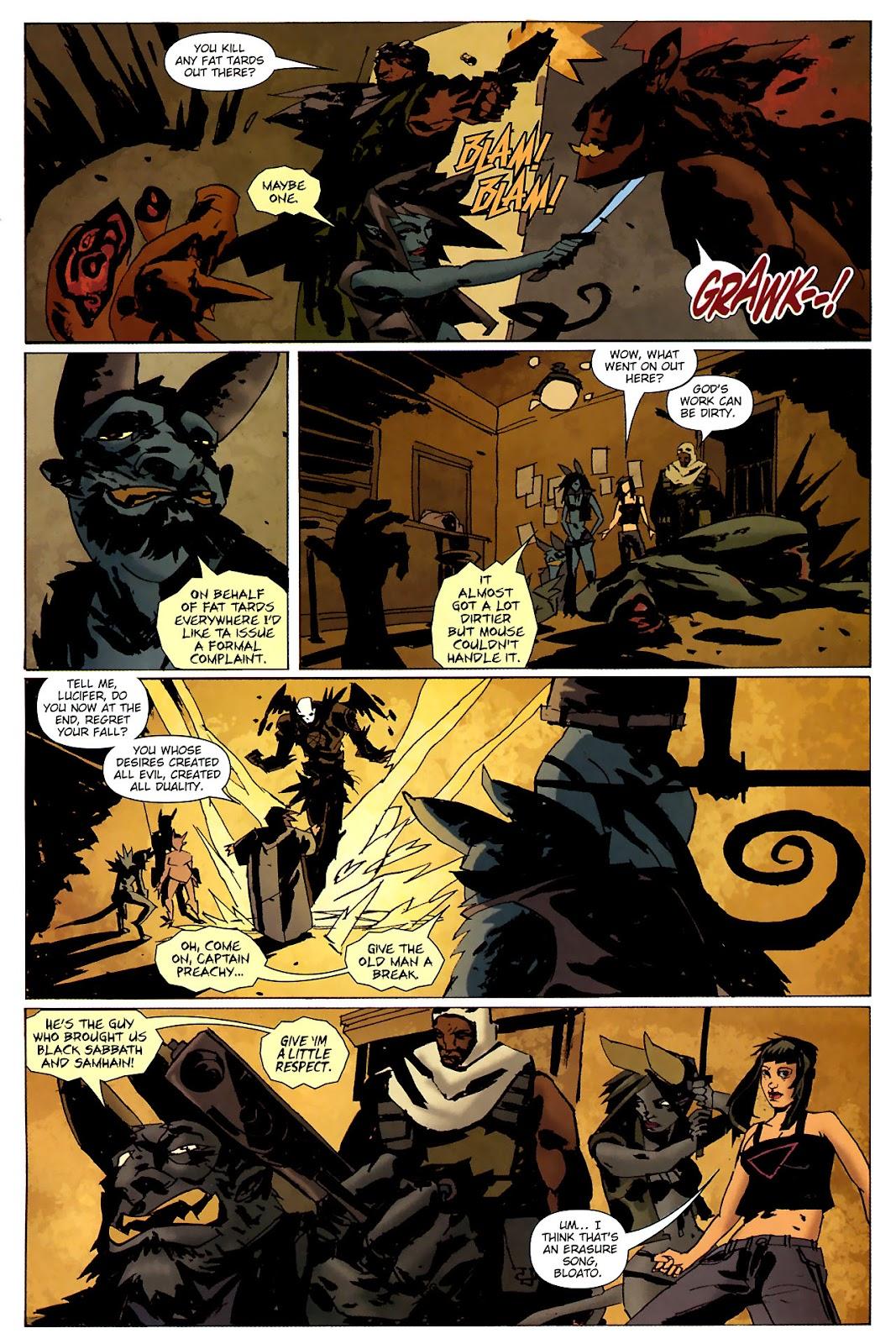 Strange Girl Issue #15 #16 - English 18
