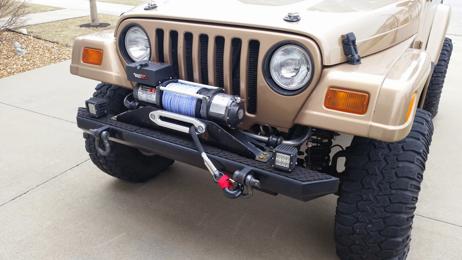 WF Review: Rugged Ridge Performance 8,500 Lbs Off Road Winch W/synthetic  Line: PART 1