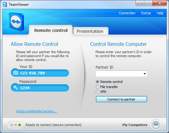 Download Softwares for FREE: Team Viewer 7