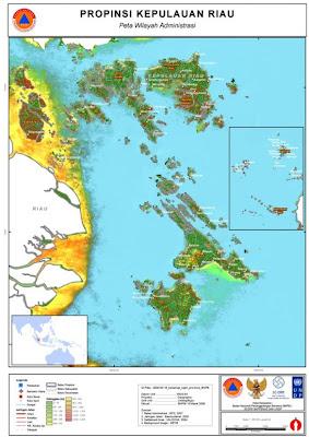 Nama Kabupaten/ Kota di Provinsi Kepulauan Riau