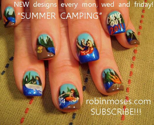 Robin Moses Nail Art: August 2011