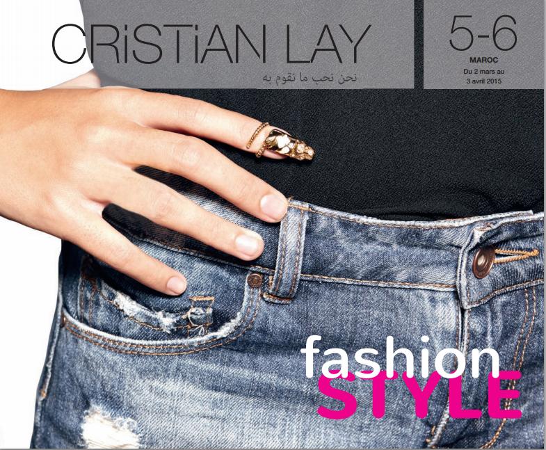 catalogue cristian lay maroc mars 2015