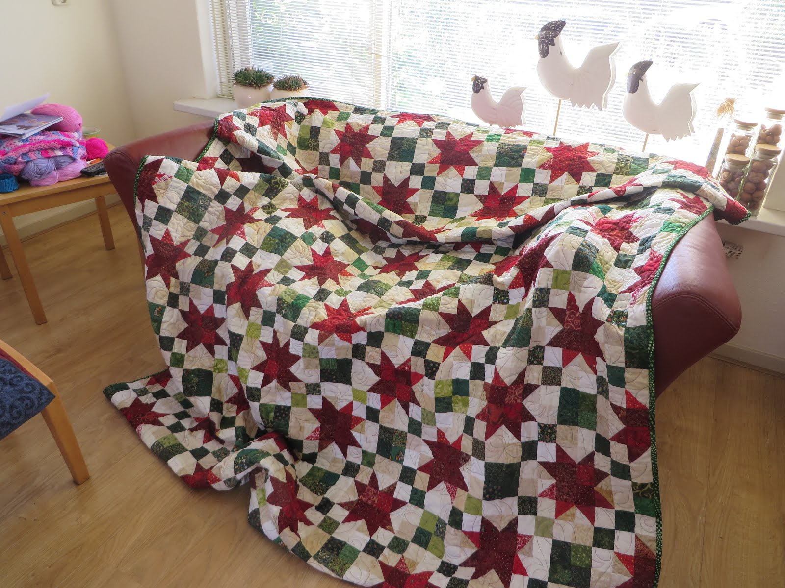 Country Christmas quilt
