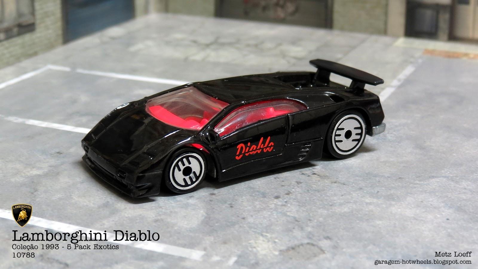 Garagem Hot Wheels Lamborghini Diablo