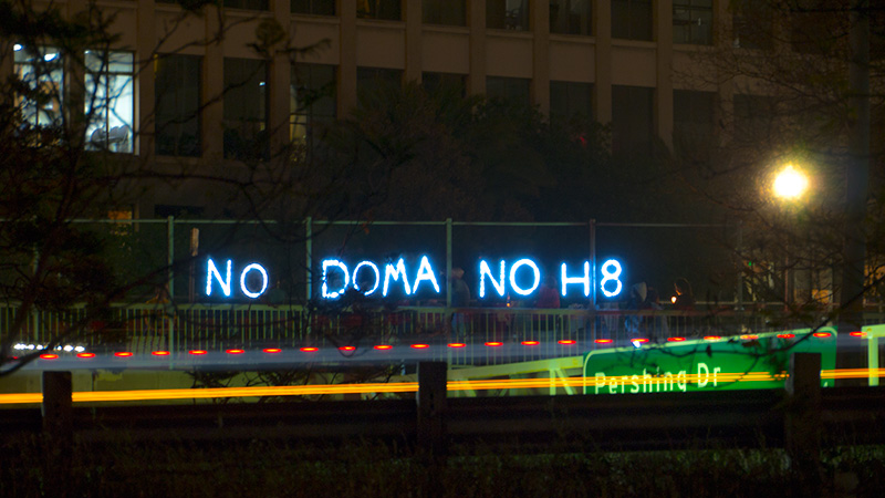 NO DOMA NO H8