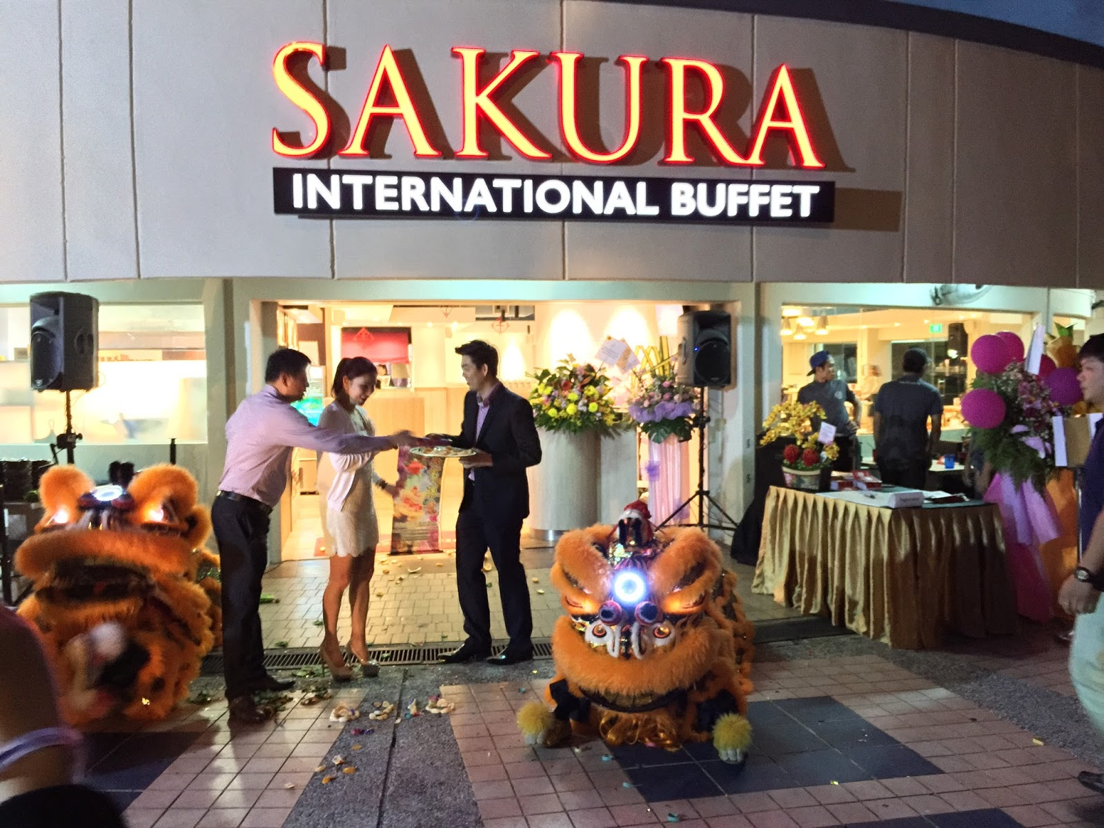 Sakura International Buffet Lion Dance 3