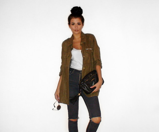 khaki outfit ideas pinterest