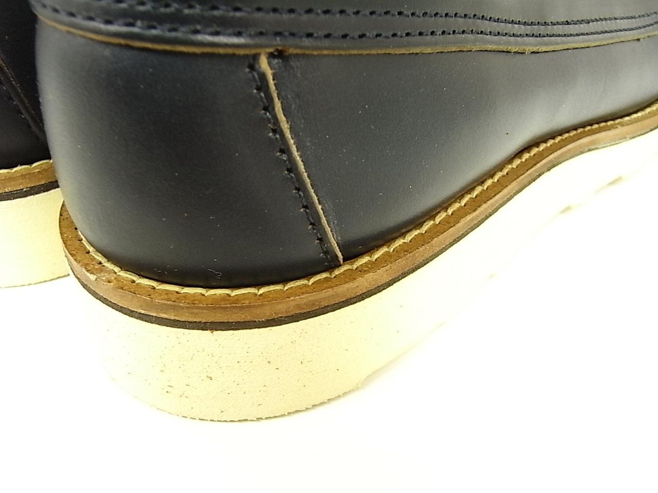 Oak Street Boot Makers Navy Vibram Sole Trail Oxford