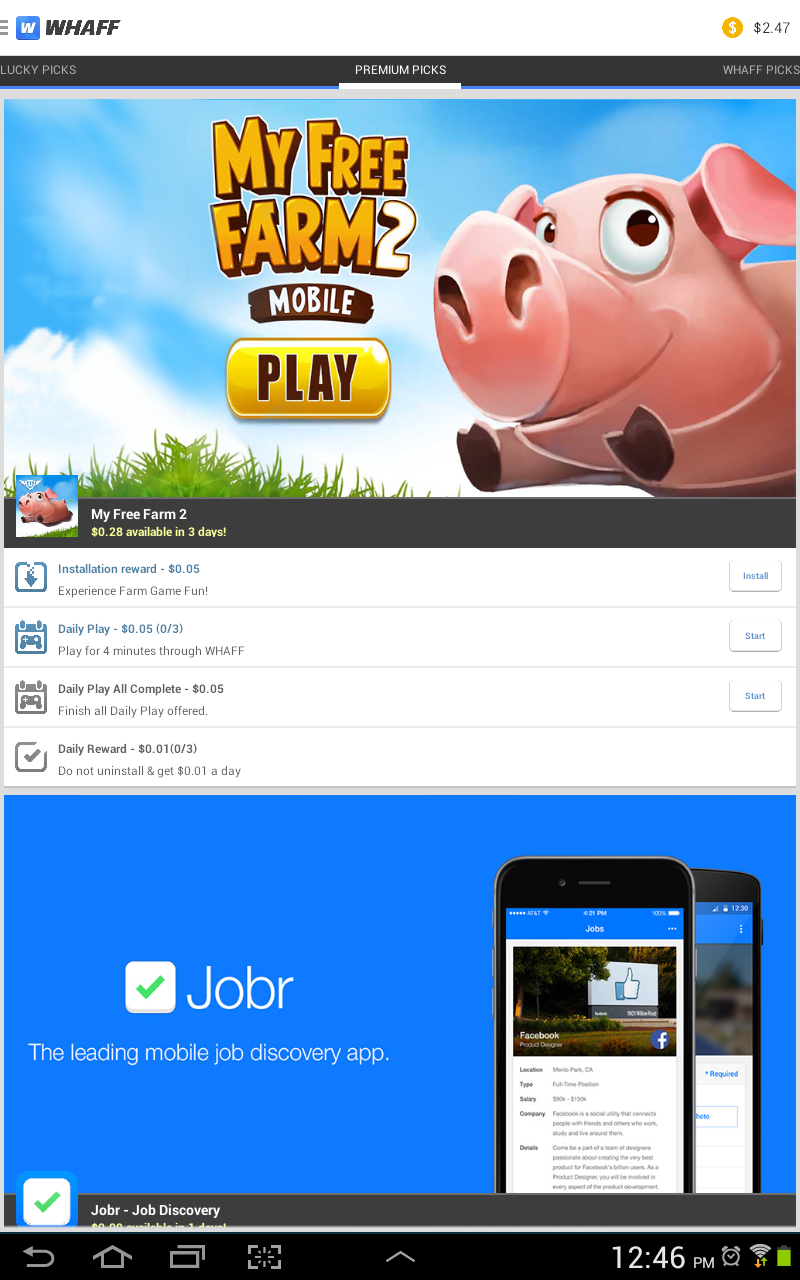 Get Paid To Play Games With The Whaff App