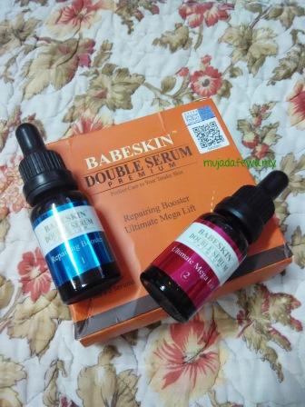 Review Babeskin Double Serum Premium, babeskin365, double serum, serum cantik, serum lebih baik daripada krim