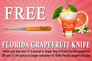 Free grapefruit knife