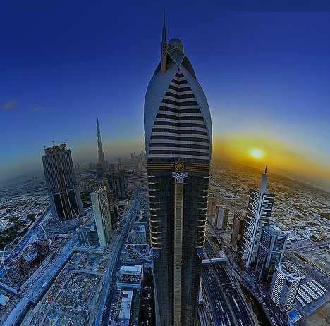 10 tallest 5 star hotels of the world hotels of the world for World biggest hotel in dubai