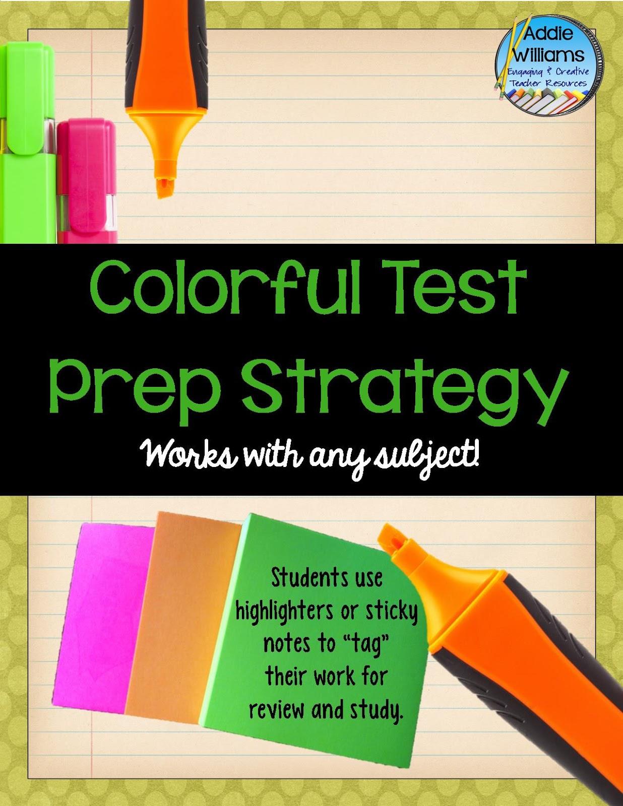 https://www.teacherspayteachers.com/Product/Test-Prep-Strategy-for-ANY-subject-FREE-534109
