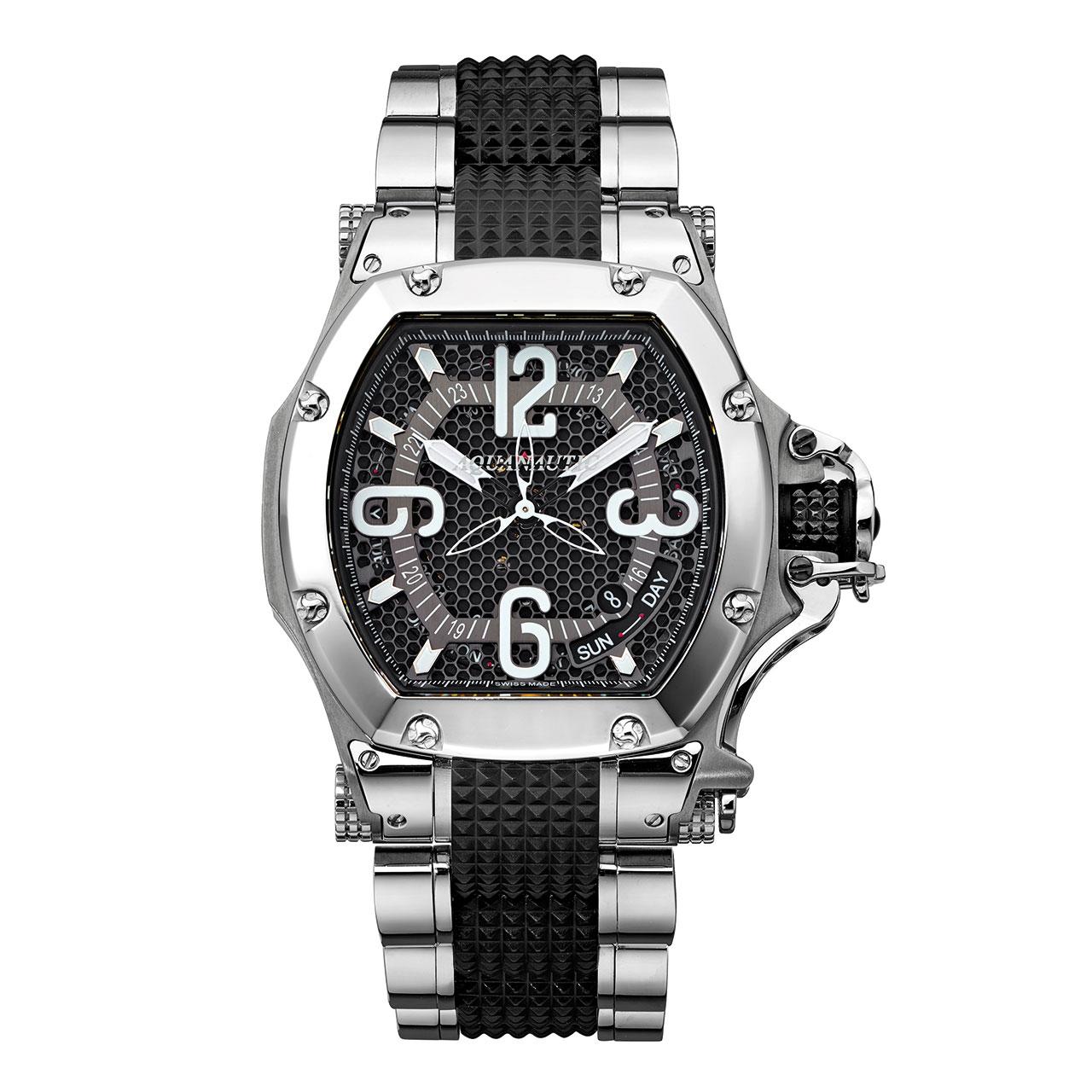 Aquanautic King Tonneau 3H Automatic Watch