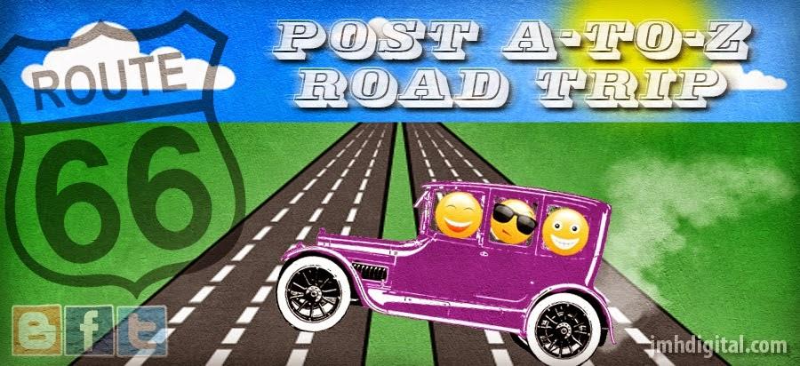 2015 A to Z Road Trip