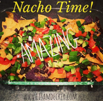 Healthy Appetizers, Nachos Recipe, Football game Appetizers, Healthy Snacks, Clean Eating, Healthy Eating, 21 Day Fix