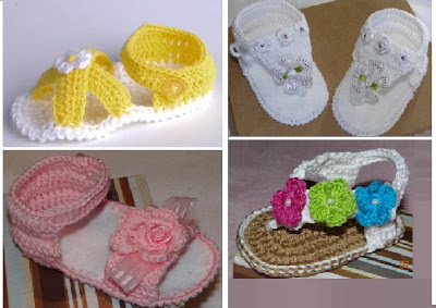 ... para ni?as ropita bebes: PATUCOS ZAPATITOS DE BEBE A CROCHET TUTORIAL