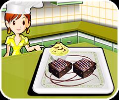Game bánh socola kem, Game  ban gai