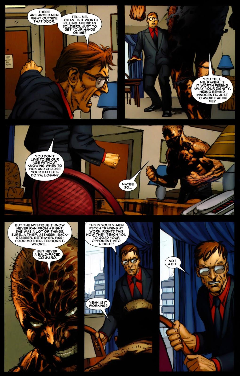 Read online Wolverine (2003) comic -  Issue #64 - 13