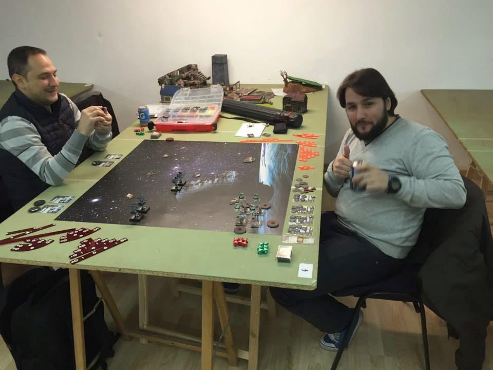 Informe de Batalla Top2 del torne X-Wing 25/12/2014 en La Roca