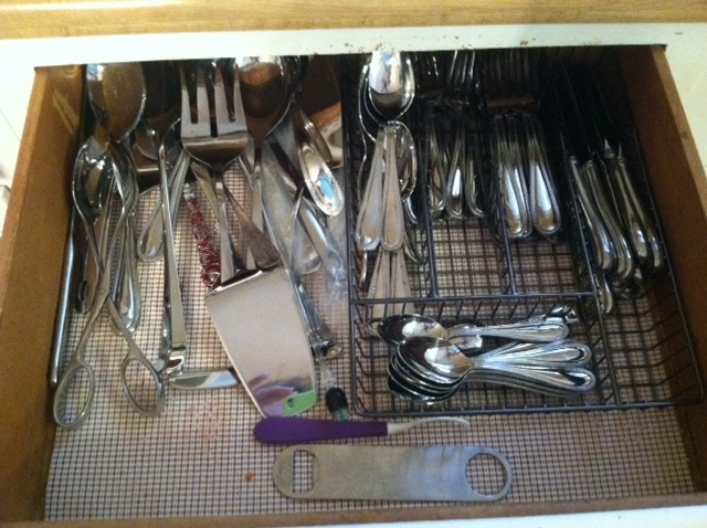 Kitchen Drawer Reveal