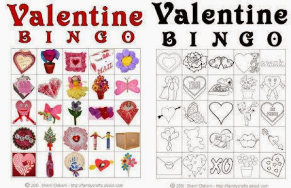 7 Funny Valentines Day Bingo Cards For Kids – Free Printable Valentines Day Bingo Cards