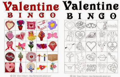 Valentine's Day Bingo Cards For Kids 6