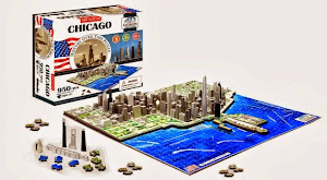 Congrats Martha T out of 455 entries. Chicago Cityscape 4D Puzzle ($44.95).