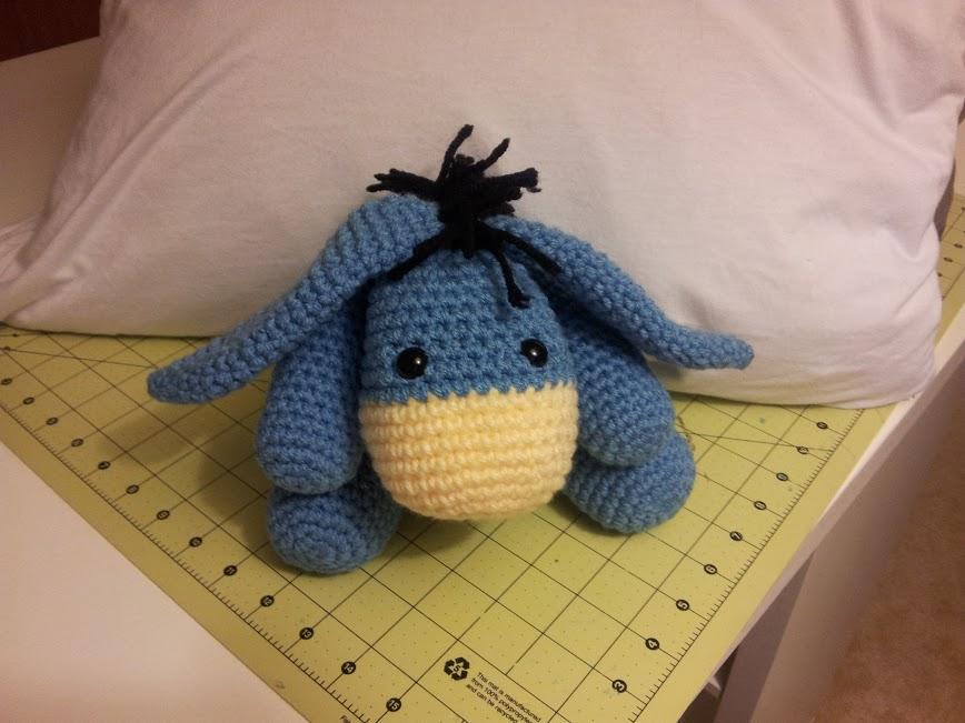 Kristens Crochet: Eeyore Inspired Softie