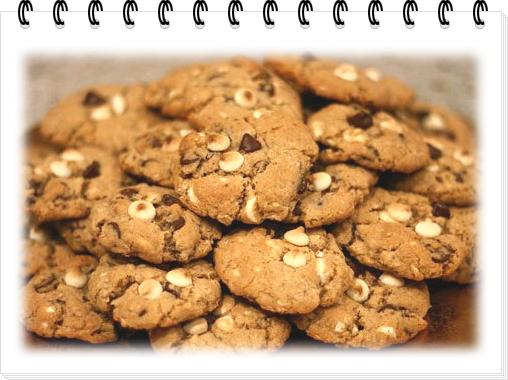 Печенье с миндалем и шоколадом