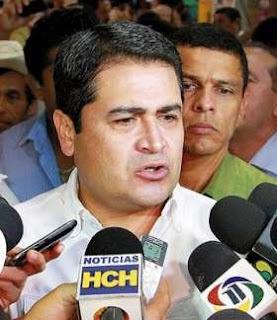 Juan Orlando Hernandez, Honduran President of Congress