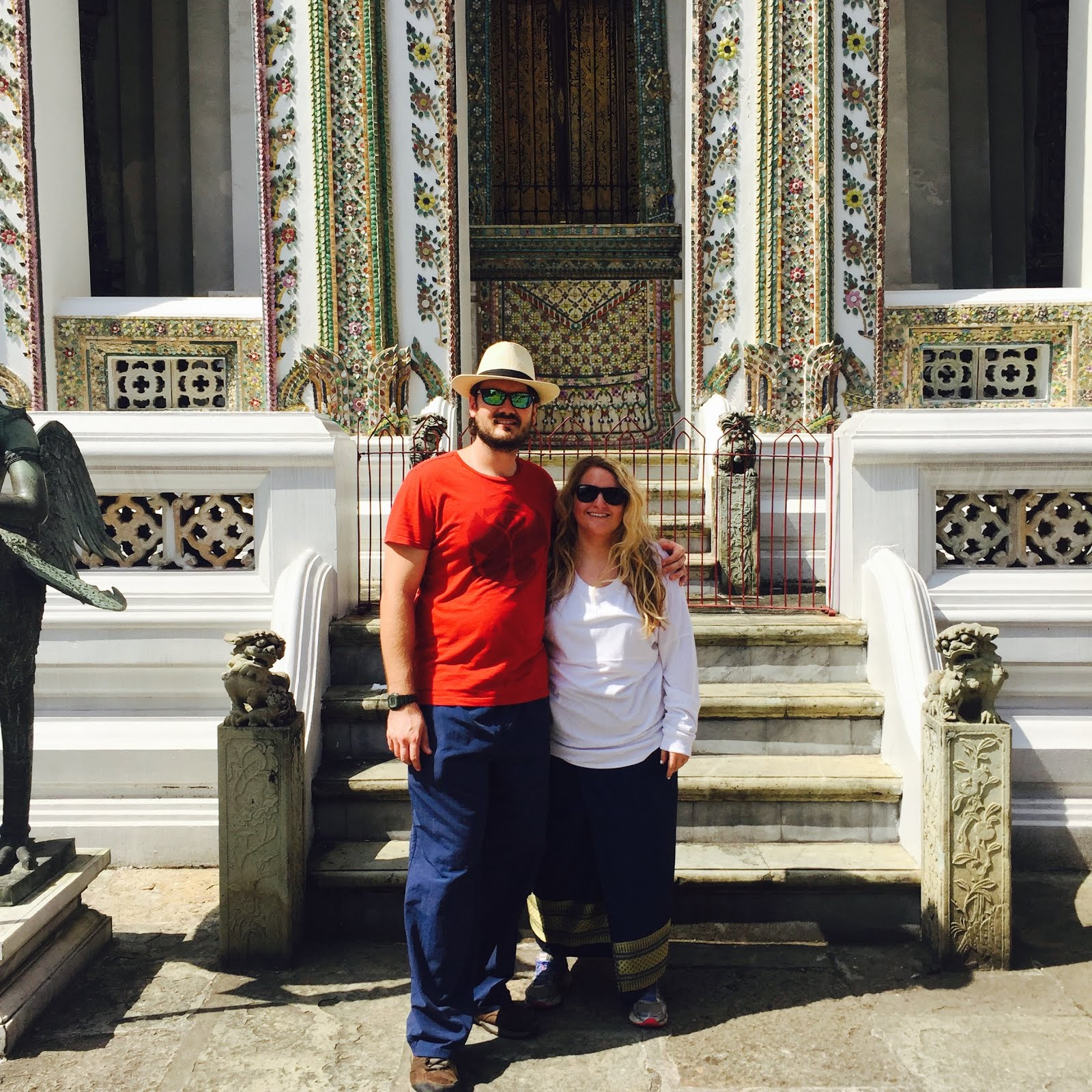 Visiting the Grand Palace in Thailand