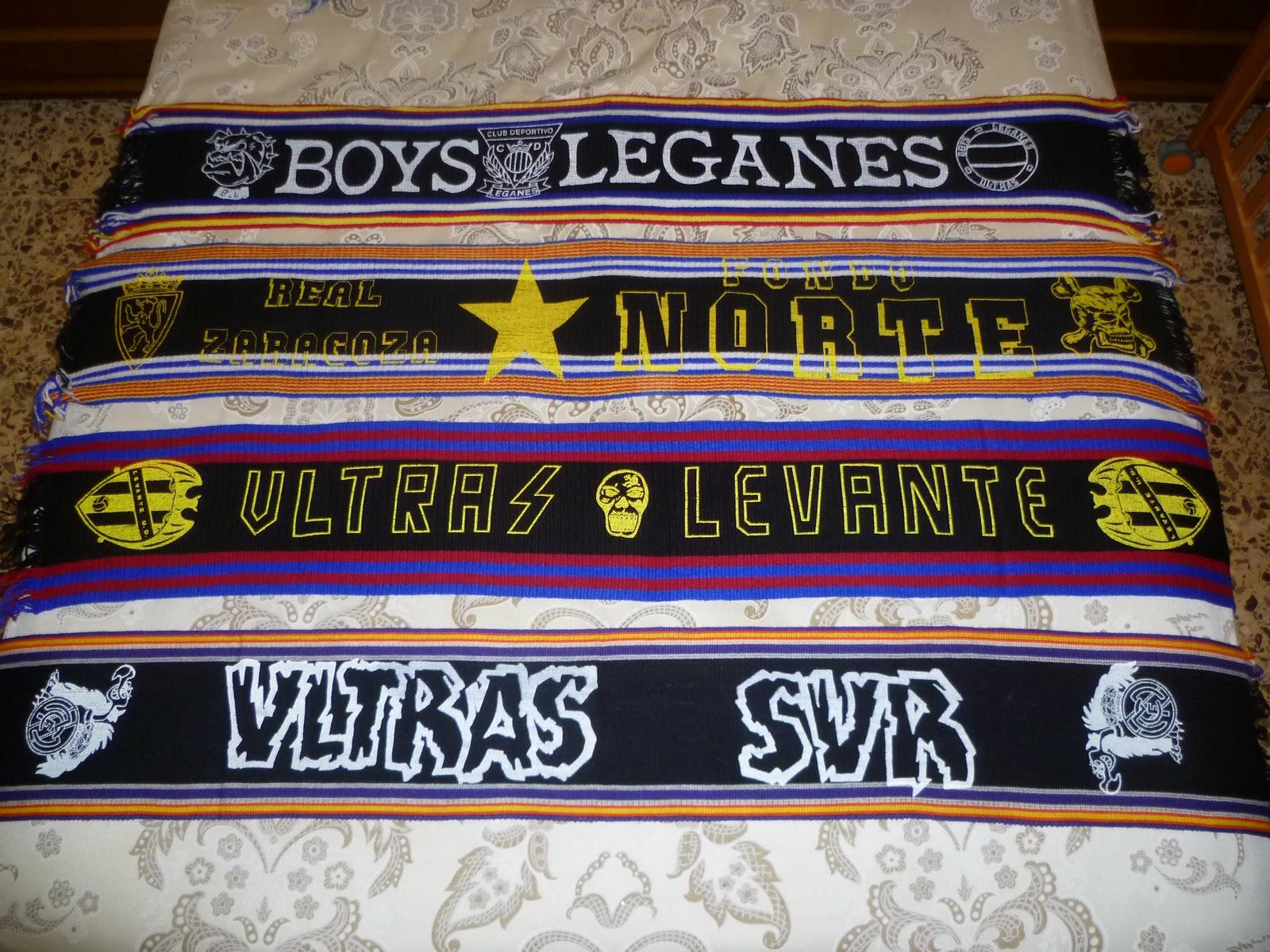 CD Leganes, Real Zaragoza, Levante UD y Real Madrid