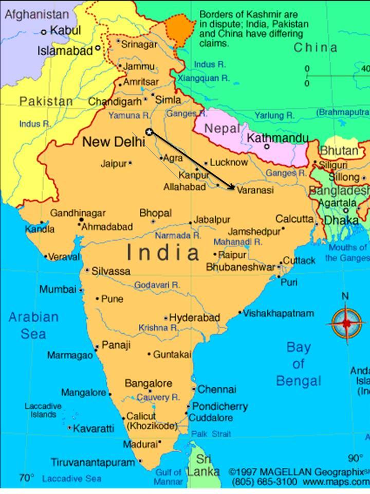 Tom's Trip to India - March/April 2012: April 2: Arrive ...